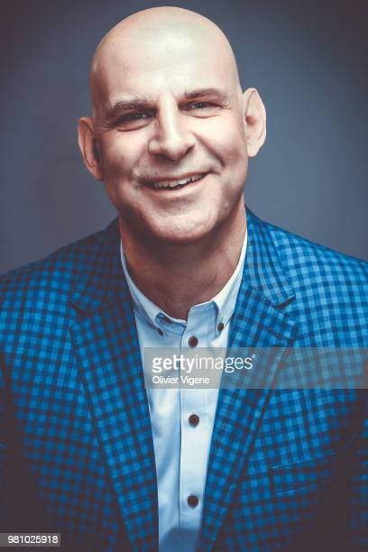Writer Harlan Coben is photographed for Self Assignment on April 2018 in Cannes France