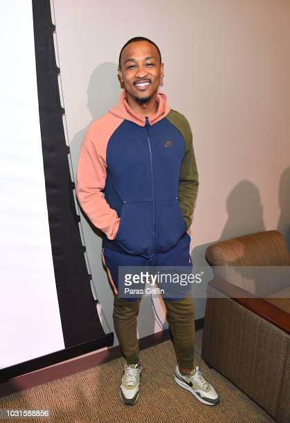 Writer Harry Ratchford attends Morehouse College REAL TALK with Night School actor Kevin Hart producer Will Packer at Morehouse College on September...