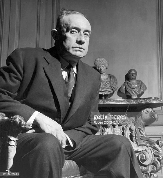 Writer Henry Millon De Montherlant In 1957