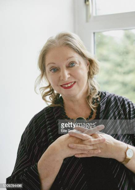 Writer Hilary Mantel is photographed for the New York Times on February 24 2020 in Sunningdale England