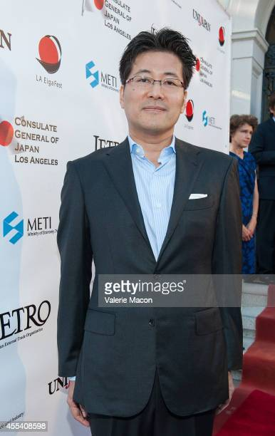 Writer Hiroshi Sakurazaka attends the 2nd Annual Japan Cool Content Contribution Awards Ceremony on September 13 2014 in Los Angeles California