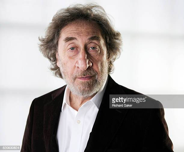 Writer Howard Jacobson is photographed for the Guardian on January 6 2016 in London England