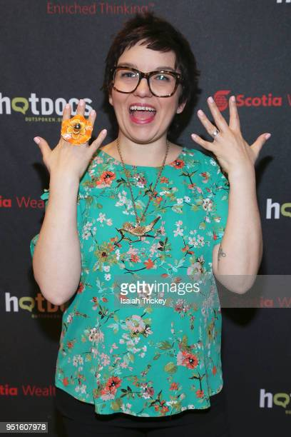 Writer Ivy Knight attends the screening of 'The Heat A Kitchen evolution' at Hot Docs Ted Rogers Cinema on April 26 2018 in Toronto Canada