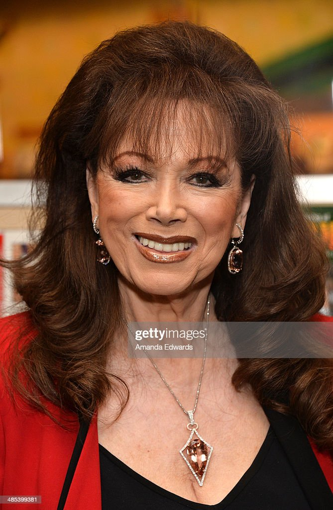 "Jackie Collins Signs Copies Of Her New Book ""The Lucky Santangelo Cookbook"""
