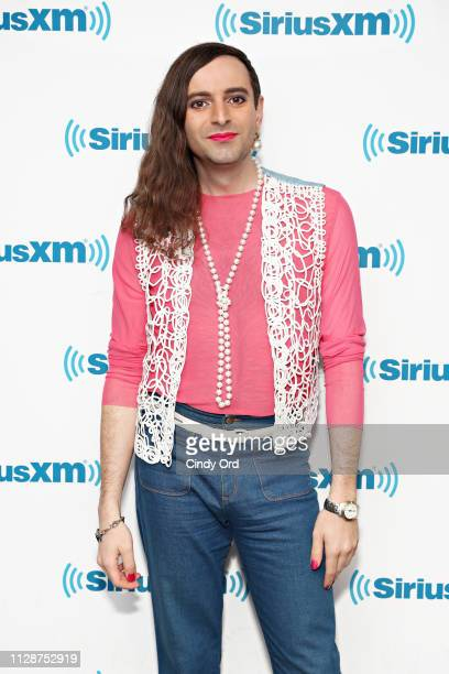 Writer Jacob Tobia visits the SiriusXM Studios on March 5 2019 in New York City