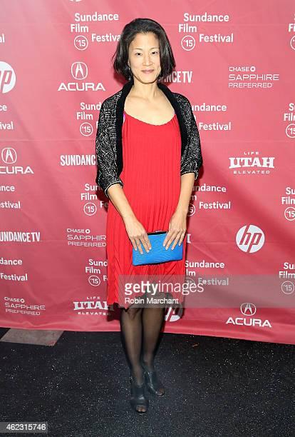 Writer Jacqueline Kim attends the 'Advantageous' Premiere during the 2015 Sundance Film Festival on January 26 2015 in Park City Utah