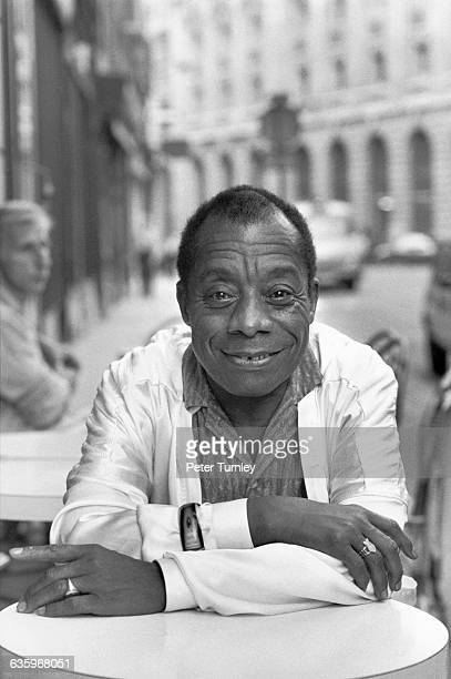 Writer James Baldwin