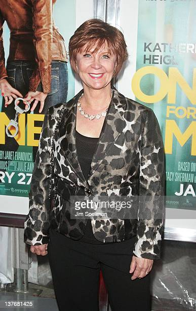Writer Janet Evanovich attends the One for the Money premiere at the AMC Loews Lincoln Square on January 24 2012 in New York City