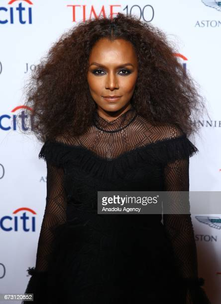 Writer Janet Mock attends the 2017 TIME 100 Gala at Jazz at Lincoln Center in New York United States on April 25 2017
