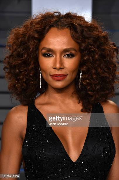 Writer Janet Mock attends the 2018 Vanity Fair Oscar Party hosted by Radhika Jones at Wallis Annenberg Center for the Performing Arts on March 4 2018...