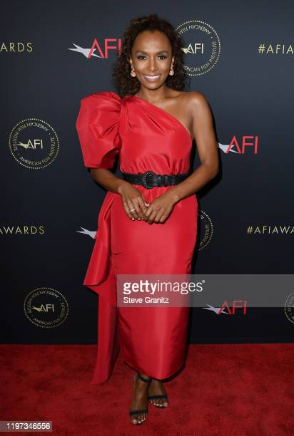 Writer Janet Mock attends the 20th Annual AFI Awards at Four Seasons Hotel Los Angeles at Beverly Hills on January 03, 2020 in Los Angeles,...