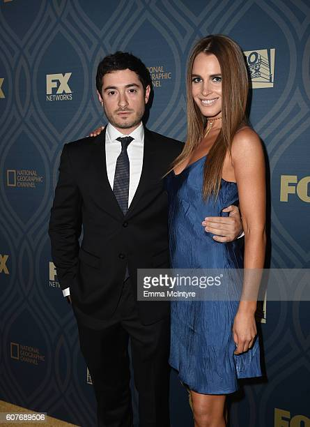 Writer Jason Fuchs and gest attend the FOX Broadcasting Company FX National Geographic And Twentieth Century Fox Television's 68th Primetime Emmy...
