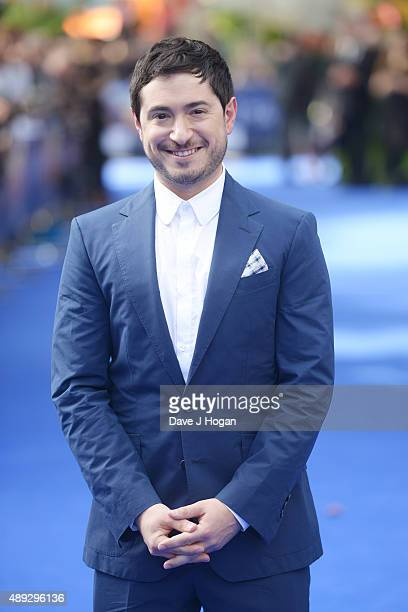Writer Jason Fuchs attends the World Premiere of Pan at Odeon Leicester Square on September 20 2015 in London England
