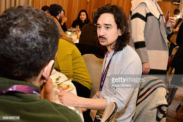 Writer Jason Lew attends the Directors' Brunch during the 2016 Sundance Film Festival at Sundance Resort on January 23 2016 in Provo Utah