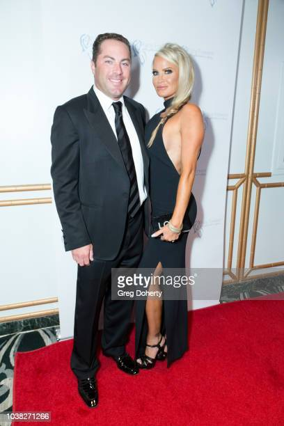 Writer Jay McGraw and wife Erica Dahm attend the Face Forward's 10th Annual La Dolce Vita Themed Gala at the Beverly Wilshire Four Seasons Hotel on...
