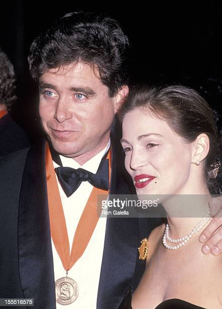Writer Jay McInerney and model Marla Hansen attend A Decade of Literary Lions The Pride of The New York Public Library Gala to Benefit the Library's...