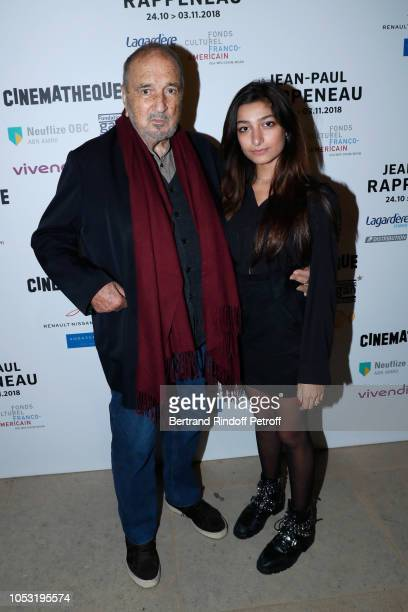 Writer JeanClaude Carriere and his daughter Kiara Carriere attend the JeanPaul Rappeneau's Retrospective with the screening of the movie Cyrano de...