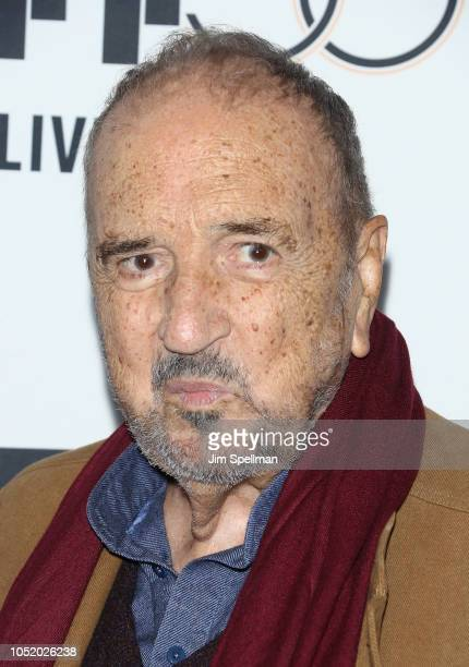 Writer JeanClaude Carriere attends the 56th New York Film Festival premiere of 'At Eternity's Gate' at Alice Tully Hall Lincoln Center on October 12...