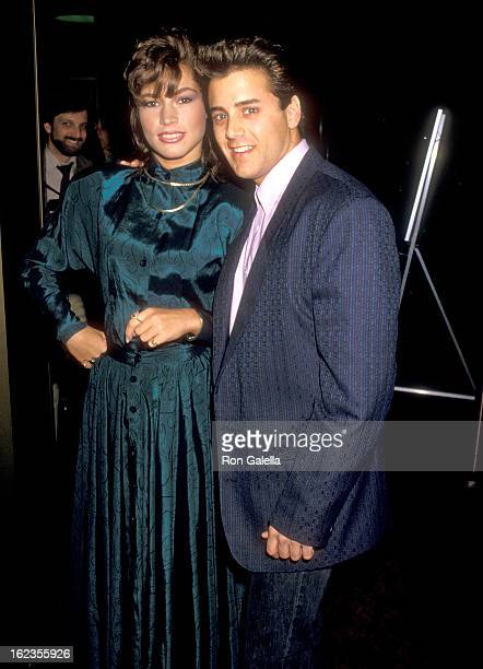 Writer Jeanette Walls and Actor Tony O'Dell attend the Rumpelstiltskin Beverly Hills Premiere on April 3 1987 at the Academy Theatre in Beverly Hills...