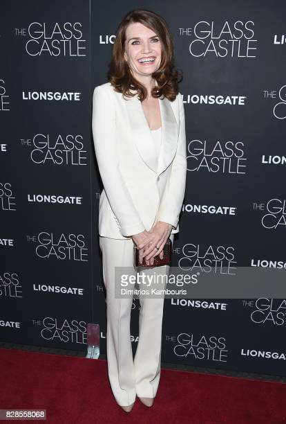 Writer Jeannette Walls attends the The Glass Castle New York Screening at SVA Theatre on August 9 2017 in New York City