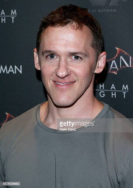 Writer Jeff Davis attends Warner Bros Interactive Entertainment's 'Cape/Cowl/Create' event in downtown San Diego a celebration of the iconic...