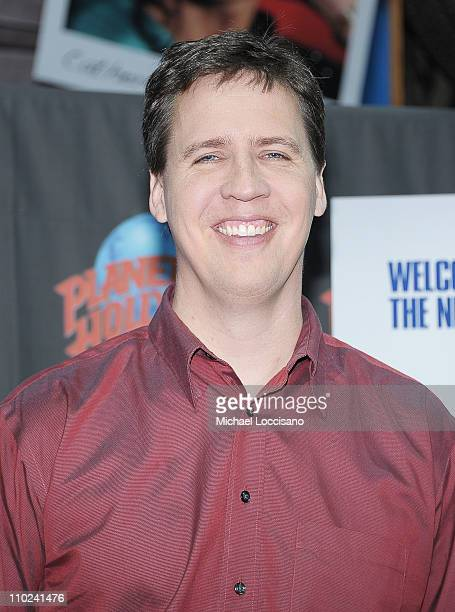 Writer Jeff Kinney attends the Planet Hollywood Times Square on March 16 2011 in New York City