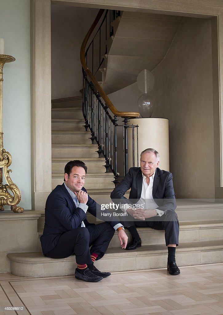 Jeffrey & William Archer, Sunday Times magazine UK, May 4, 2014