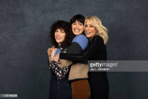 Writer Jen Tullock director Hannah Pearl Utt and actress Judith Light from 'Before You Know It' is photographed for Los Angeles Times on January 27...
