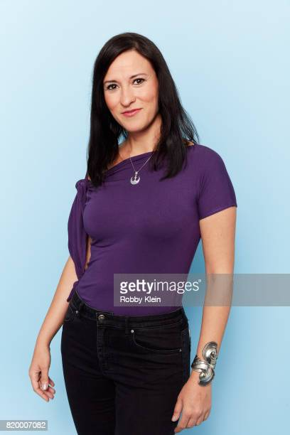 Writer Jennifer Muro poses for a portrait during ComicCon 2017 at Hard Rock Hotel San Diego on July 20 2017 in San Diego California
