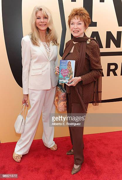 Writer Jeraldine Saunders arrives at the 8th Annual TV Land Awards at Sony Studios on April 17 2010 in Culver City California