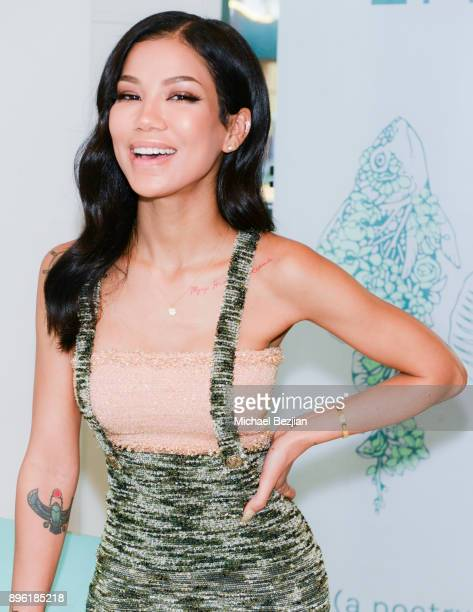 Writer Jhene Aiko attends Jhene Aiko 2Fish Poetry Book launch on December 19 2017 in Los Angeles California
