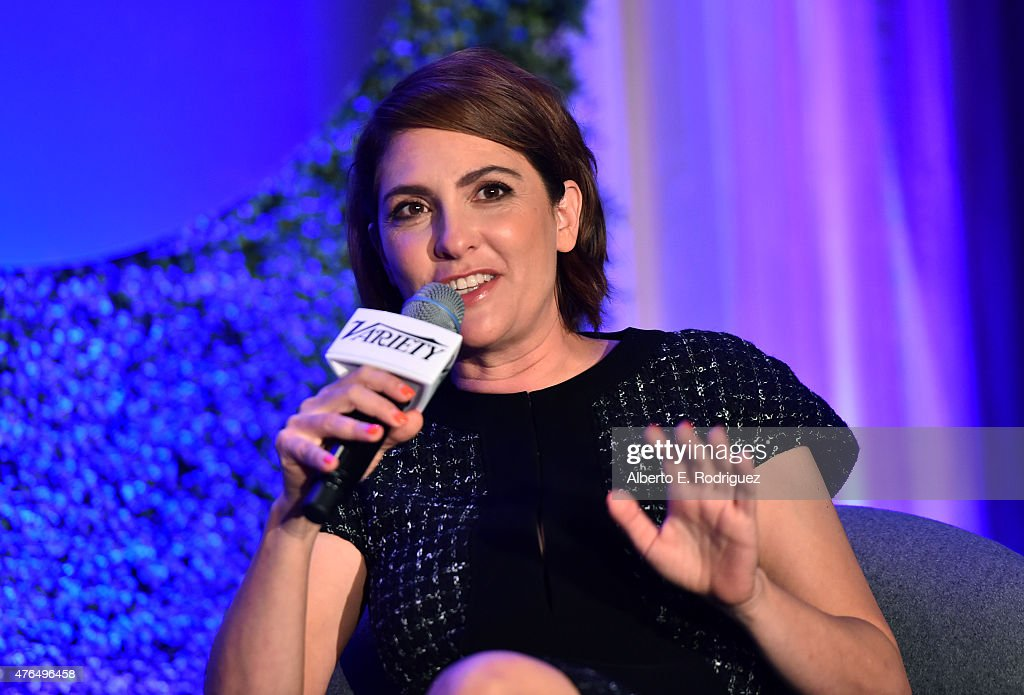 Writer Jill Soloway of 'Transparent' speaks at Variety's A Night In The Writers' Room at the Four Seasons on June 9, 2015 in Los Angeles, California.