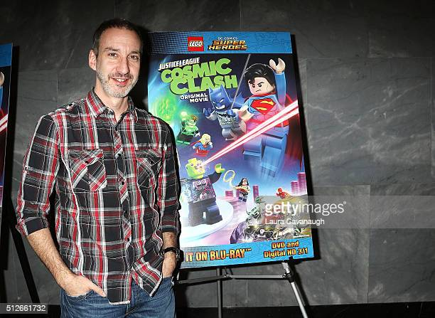 Writer Jim Krieg attends Lego DC Comics Super Heroes Justice League Cosmic Clash at The Paley Center for Media on February 27 2016 in New York City