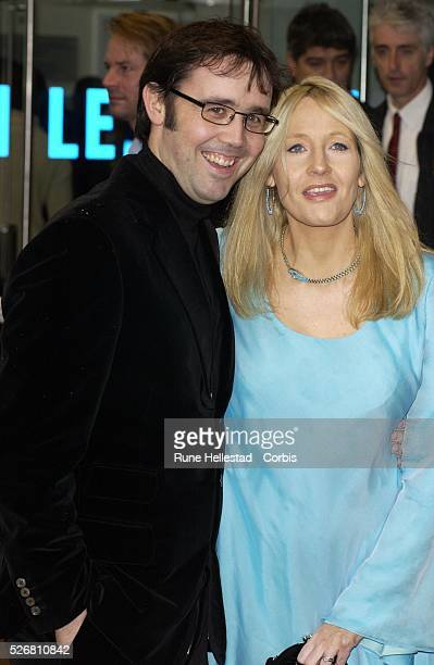 Writer JK Rowling and husband Dr Neil Murray attend the London premiere of the film Harry Potter and the Chamber of Secrets Rowling is the author of...