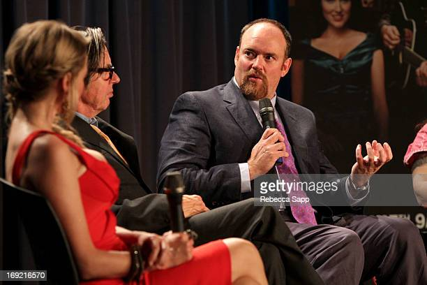 Writer John Carter Cash speaks onstage at Reel to Reel: Ring of Fire with Jewel at The GRAMMY Museum on May 21, 2013 in Los Angeles, California.