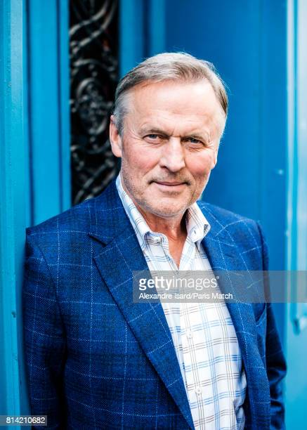 Writer John Grisham is photographed for Paris Match on March 29 2017 in Paris France
