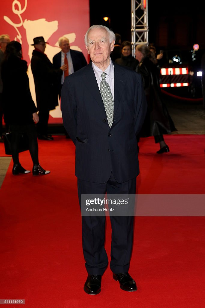 Writer John Le Carre attends the 'The Night Manager' premiere during the 66th Berlinale International Film Festival Berlin at Haus der Berlinale on February 18, 2016 in Berlin, Germany.