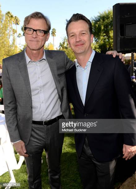 Writer John Lee Hancock and President of Walt Disney Studios Motion Picture Production Sean Bailey attend Variety's Creative Impact Awards and 10...