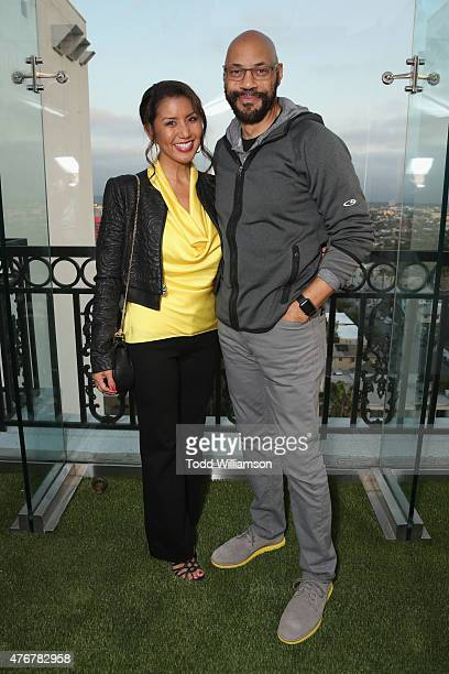 Writer John Ridley and Gayle Ridley attend TheWrap's 2nd annual Emmy party at The London Hotel on June 11 2015 in West Hollywood California