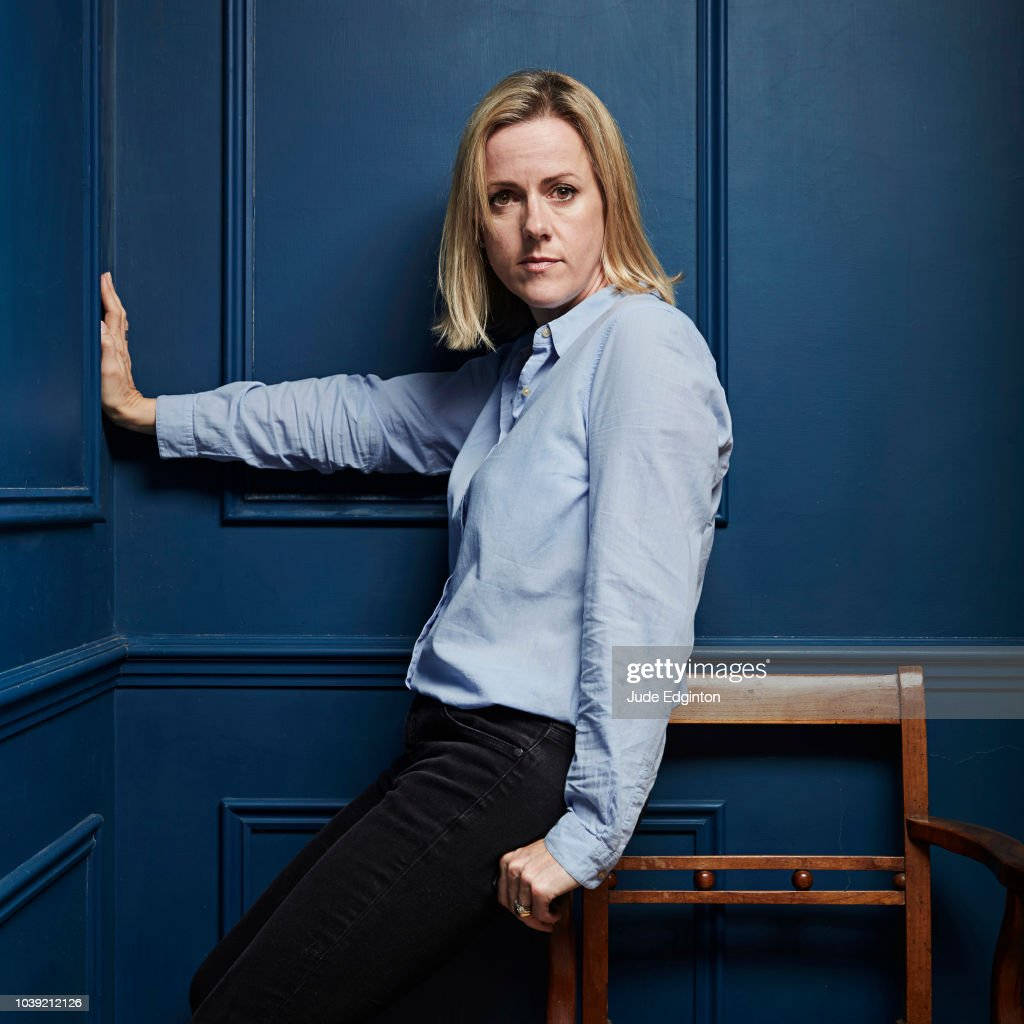 Writer Jojo Moyes is photographed for the Wall Street