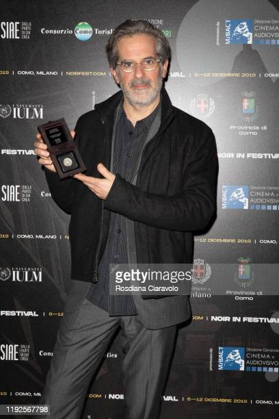 Writer Jonathan Lethem receives The Raymond Chandler Award 2019 on December 07 2019 in Como Italy