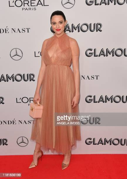 US writer Jordan Weiss attends the 2019 Glamour Women Of The Year Awards at Alice Tully Hall Lincoln Center on November 11 2019 in New York City