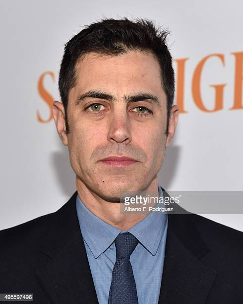 "Writer Josh Singer attends a special screening of Open Road Films' ""Spotlight"" at The DGA Theater on November 3, 2015 in Los Angeles, California."
