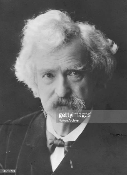 US writer journalist and lecturer Mark Twain pseudonym of Samuel Langhorne Clemens
