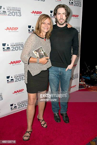 Writer Joyce Maynard and director Jason Reitman attend the 2013 Movies For Grownups Los Angeles Film Festival's screening of 'Labor Day' presented by...
