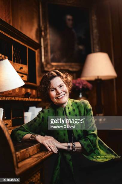 Writer Judy Blume is photographed for the Times on June 5 2014 in London England