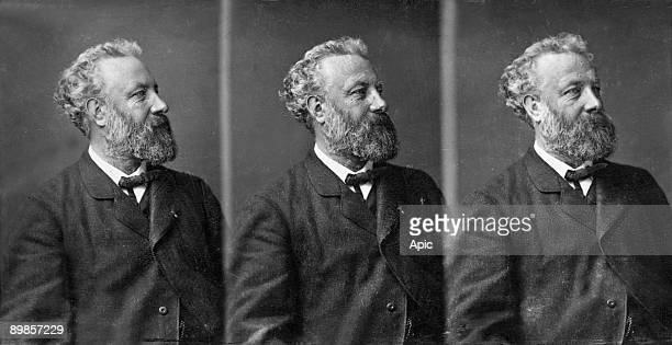 writer Jules Verne in 1875