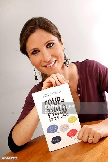 Writer Julia De Funes