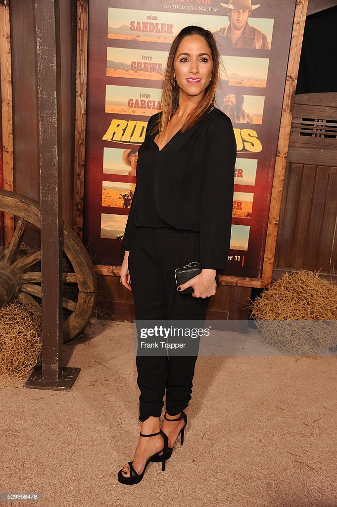 USA - The premiere of The Ridiculous 6 in Los Angeles. : News Photo