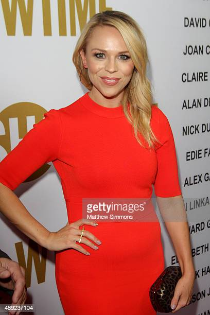 Writer Julie Solomon attends the Showtime 2015 Emmy Eve party at Sunset Tower Hotel on September 19, 2015 in West Hollywood, California.